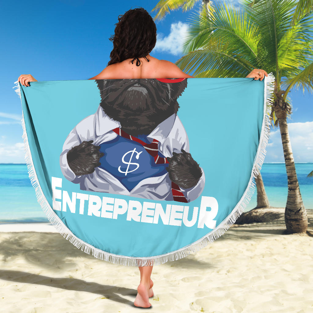 Hero Entrepreneur Beach Blanket