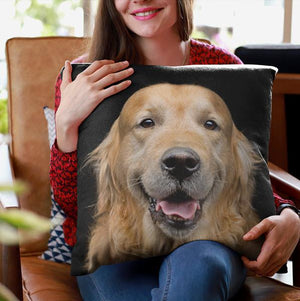 Golden Retriever Pillow Cover - WearItArt - Pillow Covers