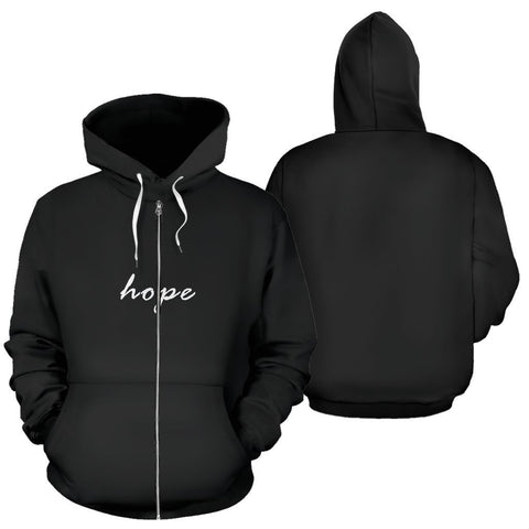 Image of Hope Zip-Up Hoodie - WearItArt - Hoodie