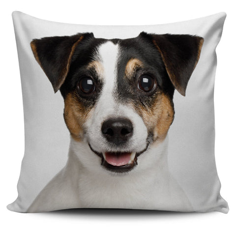Jack Russell Pillow Cover - WearItArt - Pillow Covers