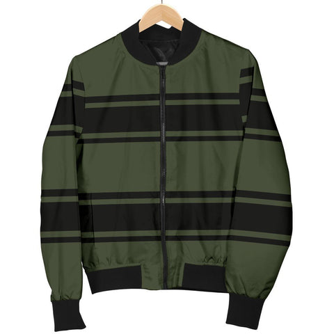 Khaki Men's Bomber Jacket - WearItArt - Jacket