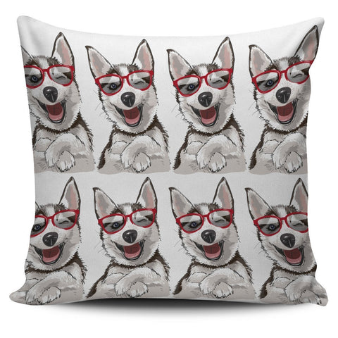 Laughing Dog Pillow Cover - WearItArt - Pillow Covers