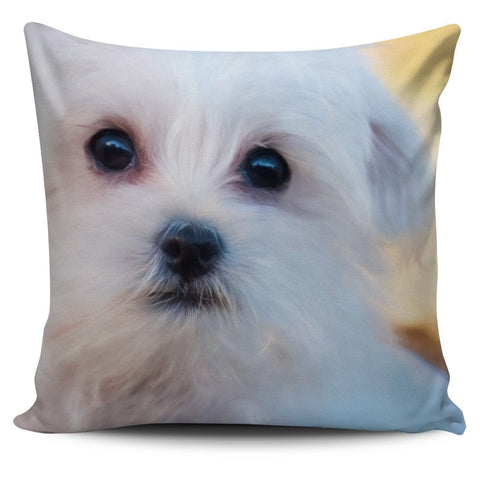 Maltese Pillow Cover - WearItArt - Pillow Covers