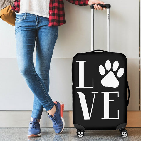 Image of NP Love Dogs Luggage Cover - WearItArt - Luggage Covers