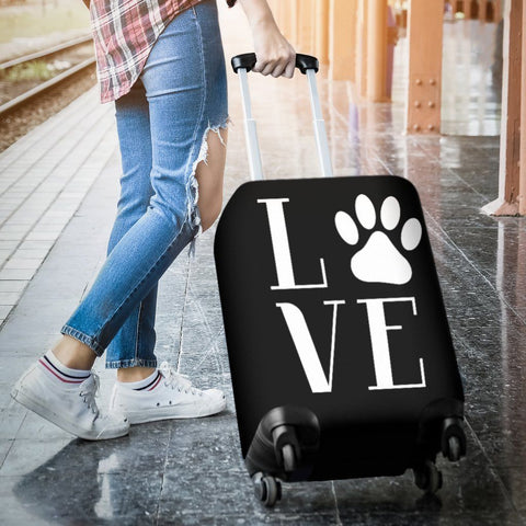 NP Love Dogs Luggage Cover - WearItArt - Luggage Covers