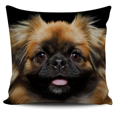 Image of Pekingese Pillow Cover - WearItArt - Pillow Covers