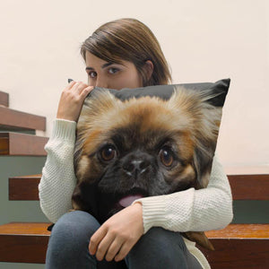 Pekingese Pillow Cover - WearItArt - Pillow Covers