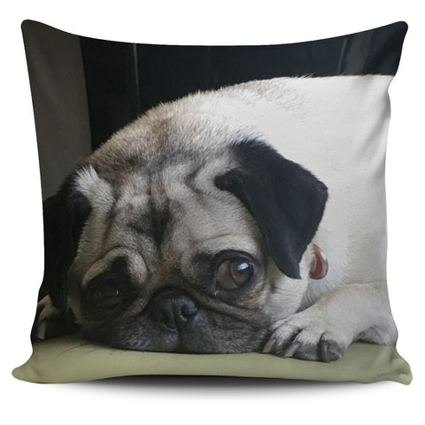 Pug Sophie Pillow Cover - WearItArt - Pillow Covers