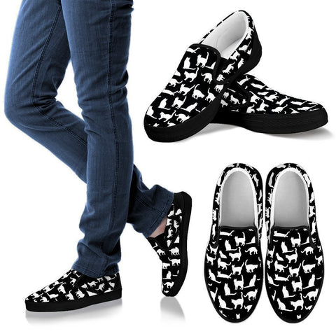Reverse Kitty Slip On - WearItArt - shoes