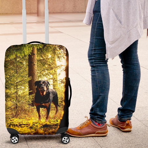 Rottweiler Luggage Cover - WearItArt - Luggage Covers