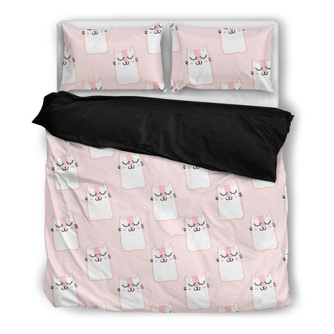 Sleepy Cats Bedding Set - WearItArt - Bedding Set