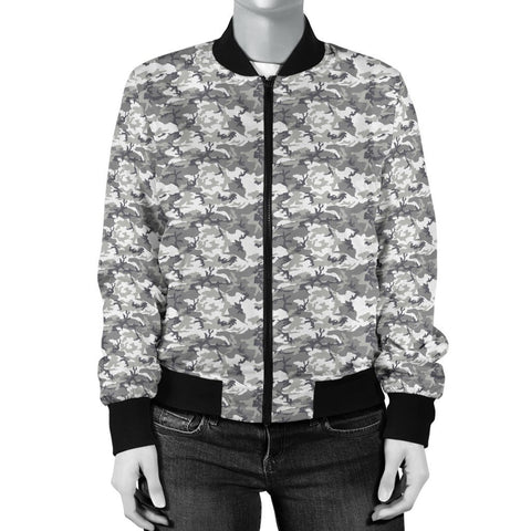 Image of Urban Camouflage Women's Bomber Jacket - WearItArt - Jacket