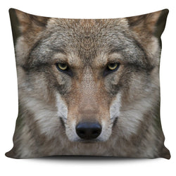 Wolf Pillow Cover - WearItArt - Pillow Covers