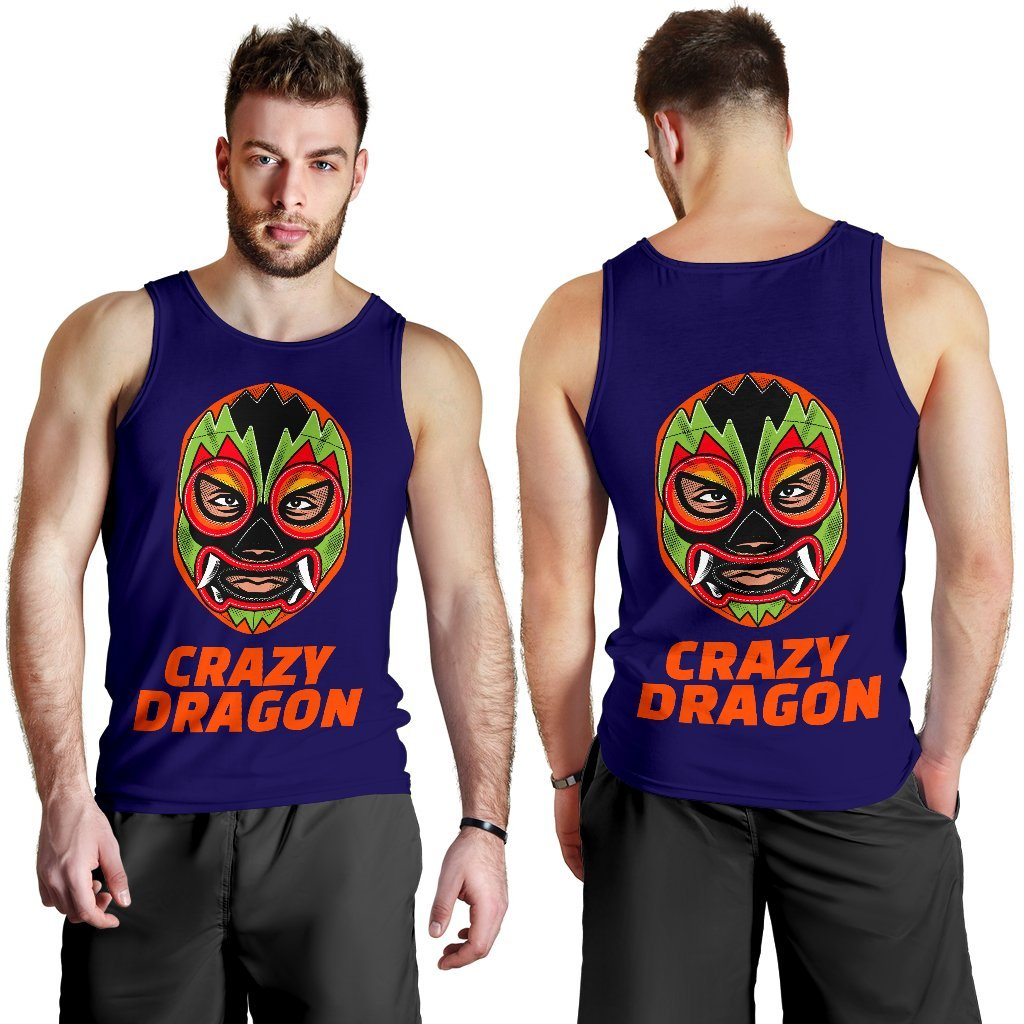 Wrestler - Crazy Dragon - Men's Tank Top - WearItArt - Tank Tops