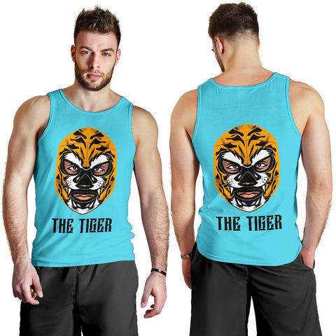 Wrestler - The Tiger - Men's Tank Top - WearItArt - Tank Tops