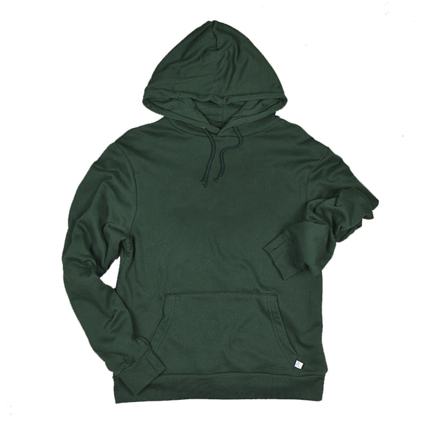 Green youth cotton surf hoodie
