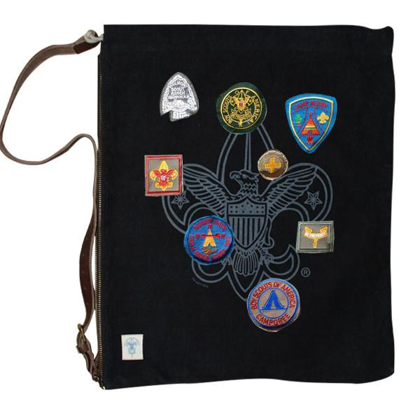 Liberty X Boy Scouts of America ®, Day Trippin' Bag, Black with Patches