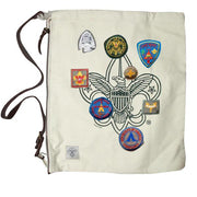 Liberty X Boy Scouts of America ®, Day Trippin' Bag, Natural with Patches