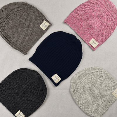 Ladies Cashmere Knit Beanies