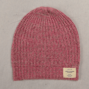 Ladies Cashmere Knit Beanie pink