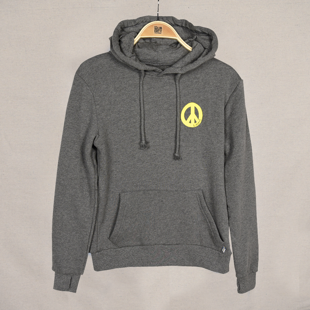 Grey Youth Ying Yang Surf Hood