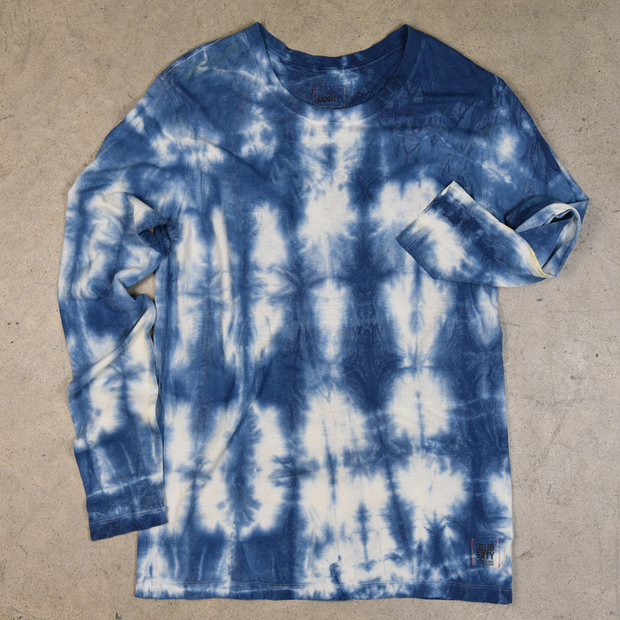 Tie Dye Lismer Hemp Long Sleeve Shirt
