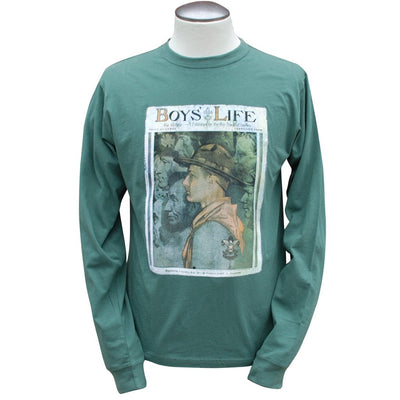 Norman Rockwell - Spirit of America, Evergreen Long Sleeve T Shirt