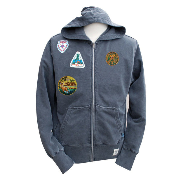 Liberty X Boy Scouts of America ®, Indigo Zip Hood with Patches