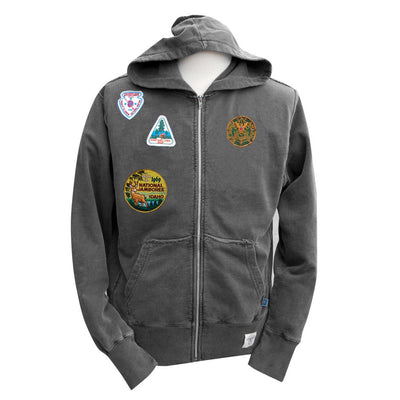 Liberty X Boy Scouts of America ®, Charcoal Zip Hood with Patches