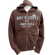Liberty X Boy Scouts of America ®, Brown Zip Hood