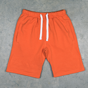 Youth thick cotton shorts (orange)