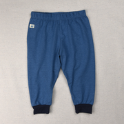 Hemp pants for baby blue