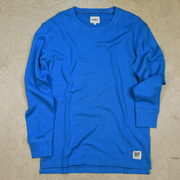 The Carmichael Hemp Crew Neck: a men and women's long sleeve hemp shirt