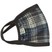 Grey Tartan Face Mask