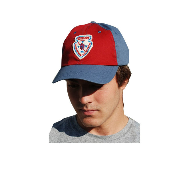 Liberty X Boy Scouts of America ®, Red and Blue Two-Tone Hat, Owasippe