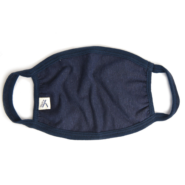 Hemp face masks blue