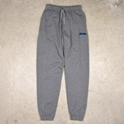 Grey cotton sweatpants for women and men