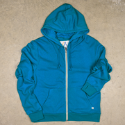 Blue Youth Surf Zip Hoodie