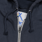 Navy Youth Surf Zip Hoodie