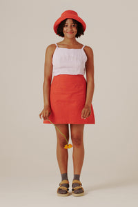 Shenae Mini Skirt - Cherry