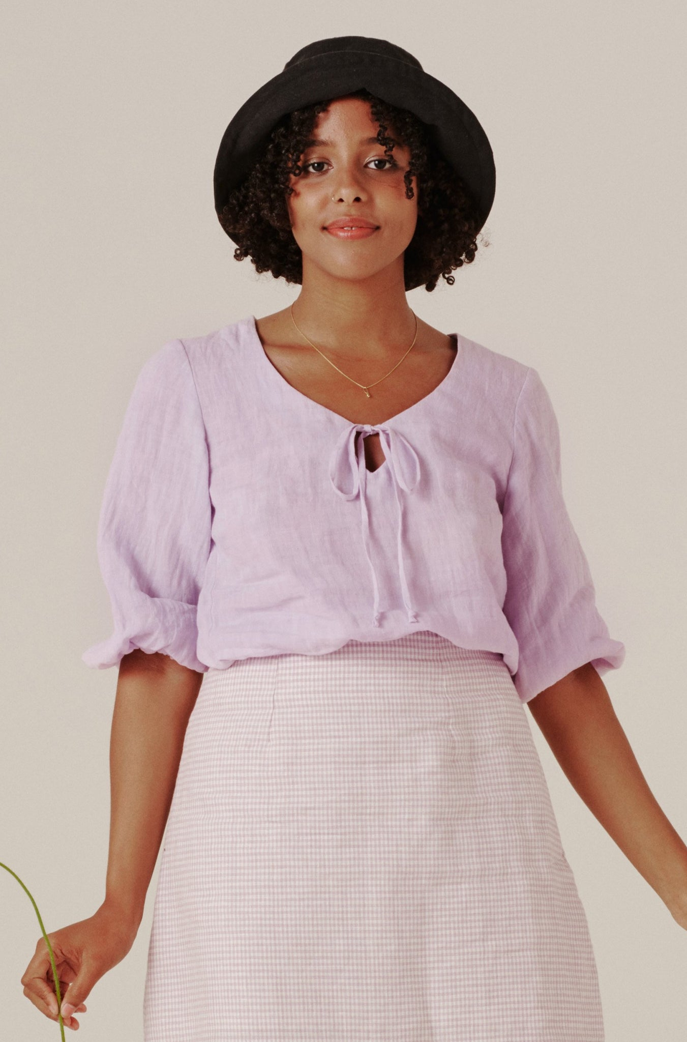 Alice Top - Lilac