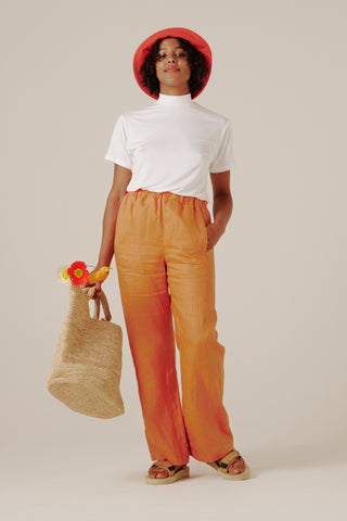 Effie Pants - Tangerine