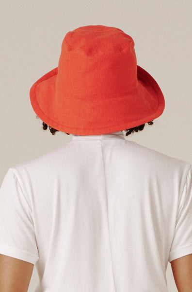 Ashi Sun Hat - Cherry