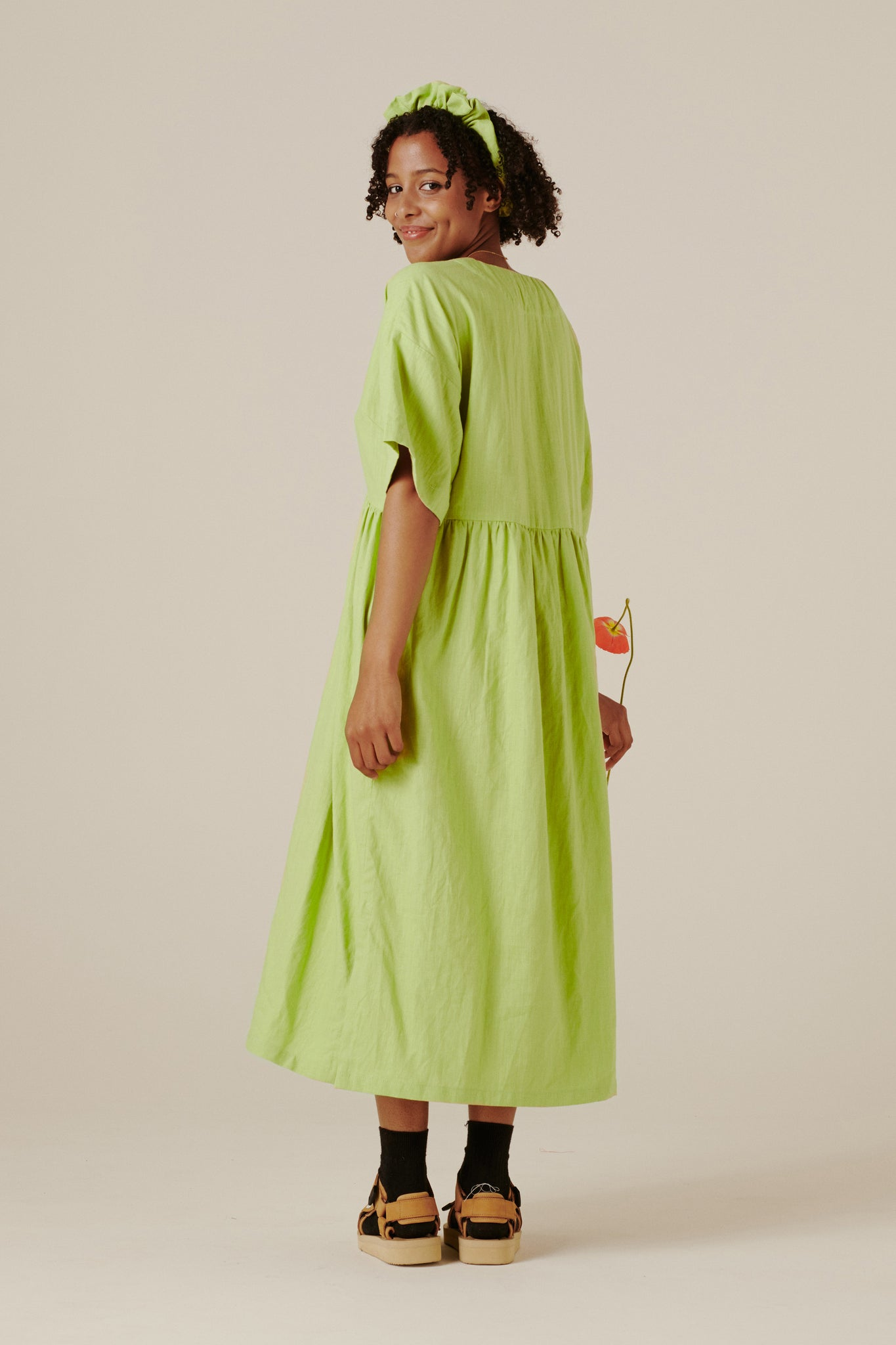 Suki Dress - Pistachio