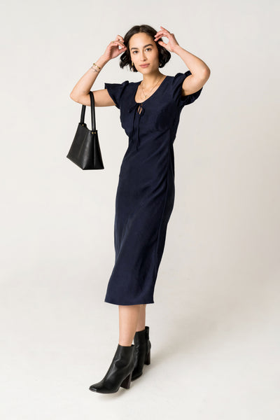 Ronnie Dress - Navy