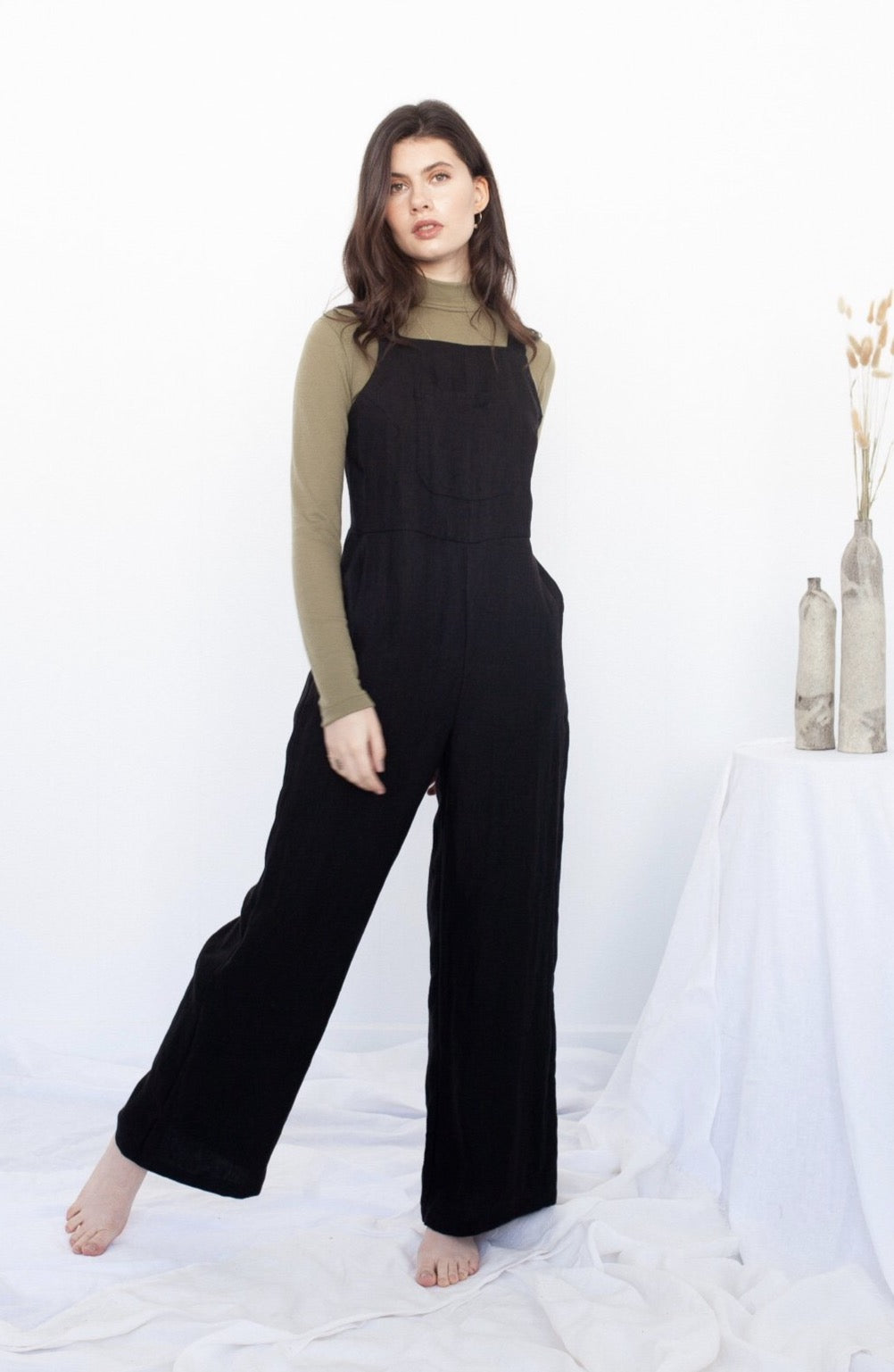 Rosalie Jumpsuit - Black