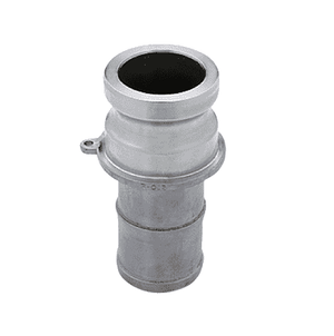 "150ESS Banjo 316 Stainless Steel Cam Lever Coupling - Part E - 1-1/2"" Male Adapter x 1-1/2"" Hose Shank - 150 PSI - Gasket: N/A"