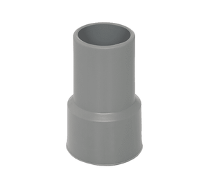 "03100755 Flexaust Standard Screw Cuff - 1.25"" Hose ID - Gray"