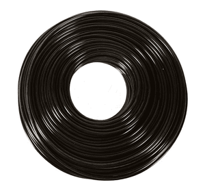 "1208BR Dixon Black Polyethylene Tubing - 3/8"" OD x .250"" ID - .062 Wall Thickness - 500ft Roll"