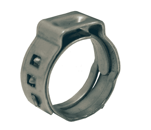 "1029 Dixon Stepless Ear Clamps - 304 Stainless Steel - 13/16"" Nominal Size - Range: .701"" Closed to .827"" Open (Pack of 100)"